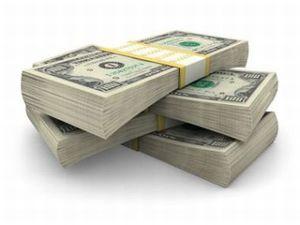 Пачка денег, баксы