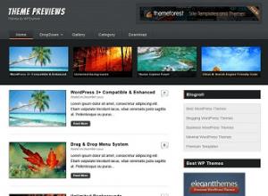 Wordpress тема Magazine