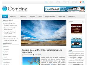 Wordpress тема Combine