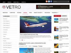 Wordpress тема Vetro