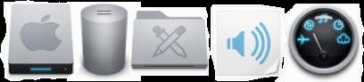 Иконки в стиле mac