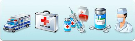 Иконки медицинские