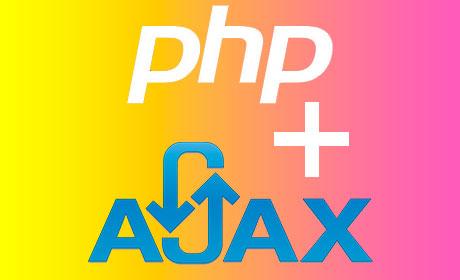 PHP + Ajax